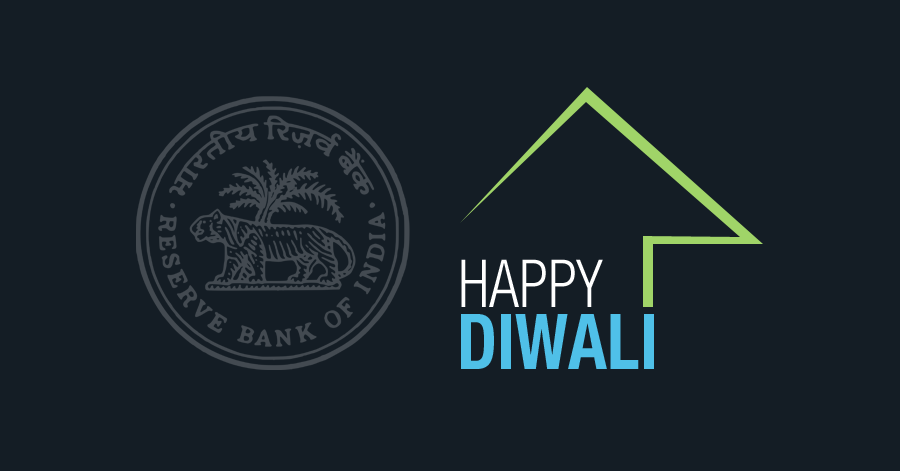 Happy Early Diwali to all property buyers