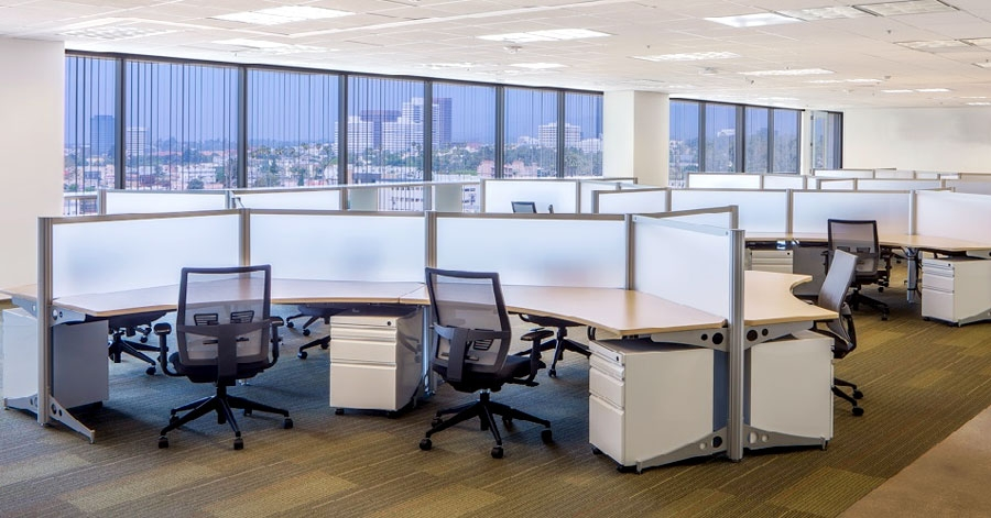 Commercial real estate is the King, at least for now, as office spaces sell / rent real fast