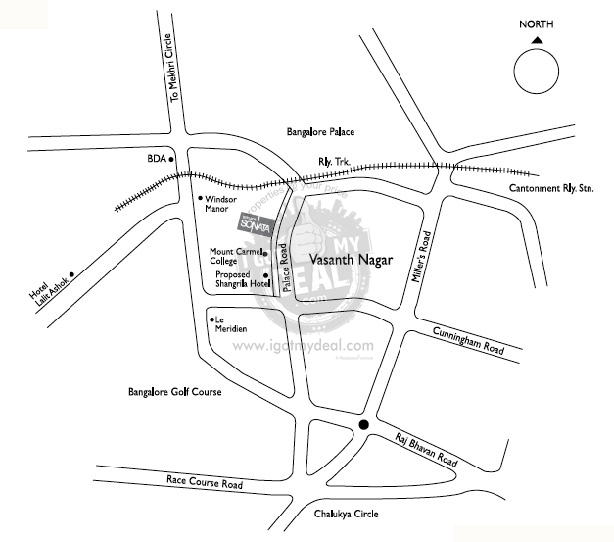 brigade sonata bangalore palace road by brigade group  91