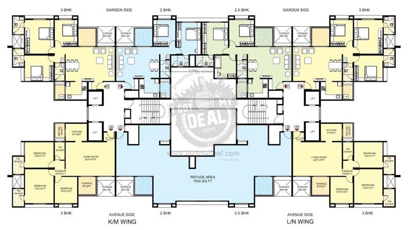 Superb Park Express Floor Plan 2