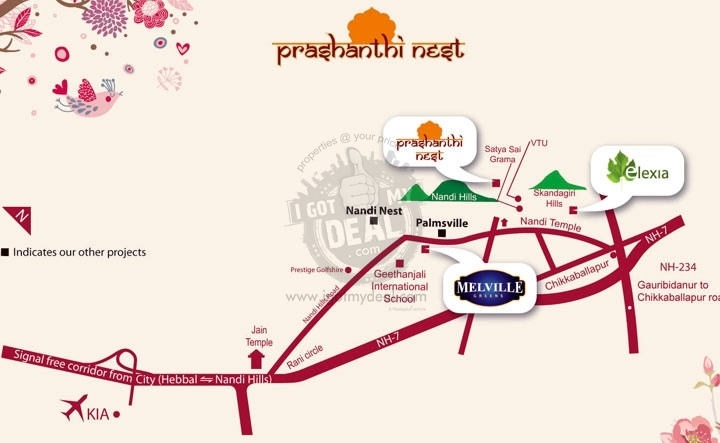 Prashanthi Nest Byranayakana Halli Chikballapur - Price