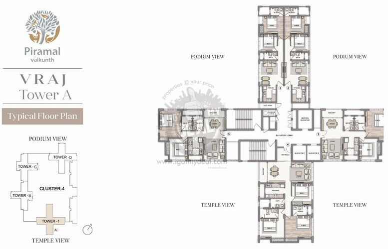 images of floor plans piramal vaikunth balkum thane price location 18768