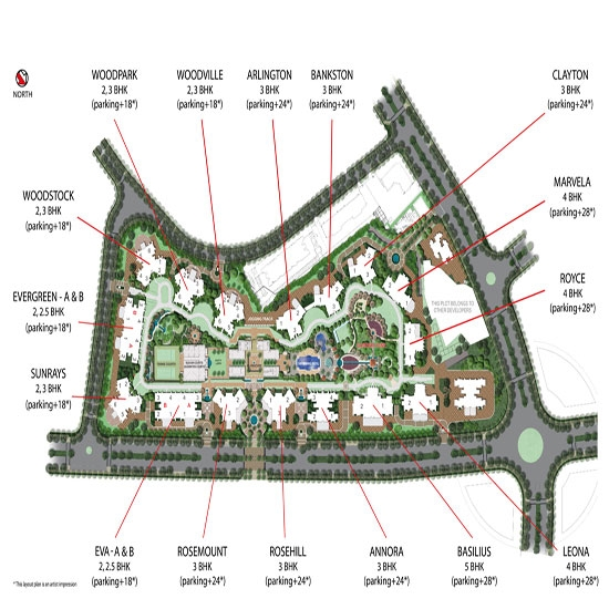 Basil Resale South >> Hiranandani Estate Rodas Enclave - Basilius Ghodbunder Road Thane - Price, Location, Possession ...